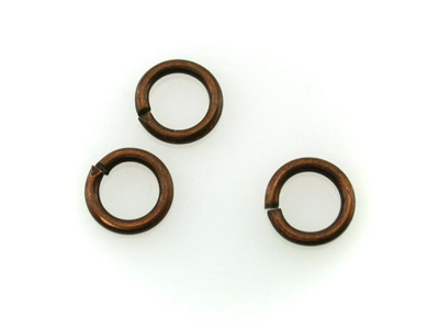 open jumpring copper 6mm 500 pieces