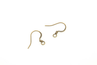 boucle d'o hamecon 15mm bronze x200pcs