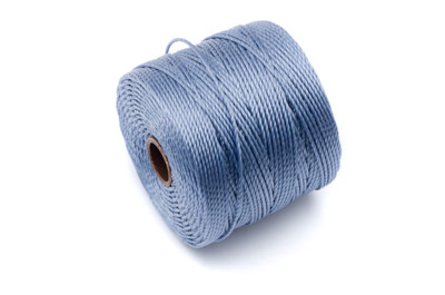 twisted nylon cord 0,6mm montana blue x1 spool (approx 70m)