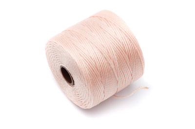 twisted nylon cord 0,6mm linen x1 spool (approx 70m)