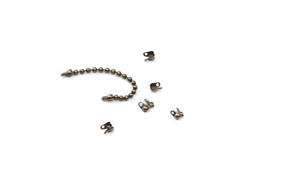 terminator bronze for 1,5mm chain ball x50pcs