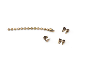 terminator bronze for 2mm chain ball x50pcs