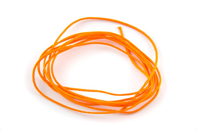 fil satin 0,7mm orange x130m