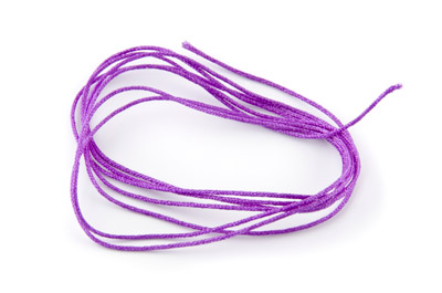satin cord 0,7mm purple x130m