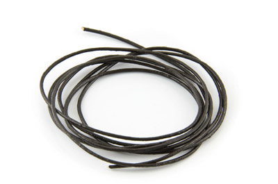 leather cord 1mm dark brown x10m