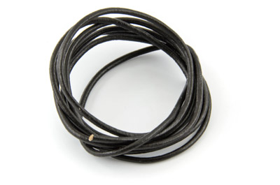 leather cord 2mm dark brown x10m