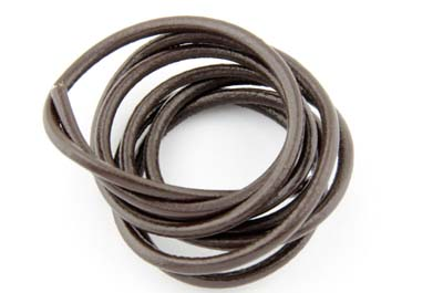 leather cord 3mm brown x5m
