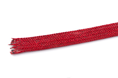 braided cord metallic red 10mm x2.8m