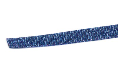 flat band 10mm micro glitter blue purple reflection x1m