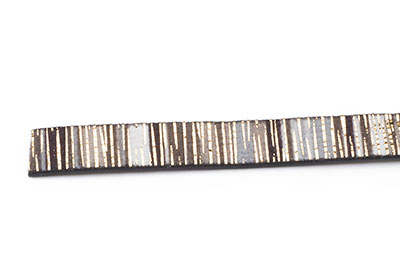 flat band 10mm multi grey approx 1,2m x2 strands