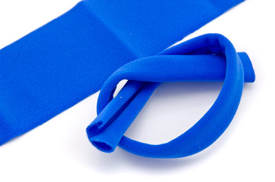 lycra 30mm electric blue x10m