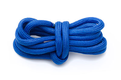 Paracord 4mm blaues elektrisches x10m