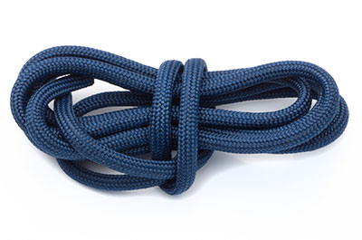 paracord 4mm bleu marine x10m