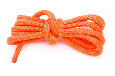 paracord 4mm orange x10m
