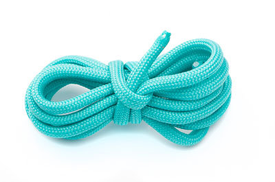 paracord 4mm aqua x10m
