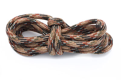 paracord 4mm multi marron x10m
