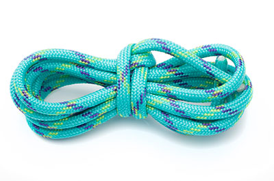 paracord 4mm multi aqua x10m