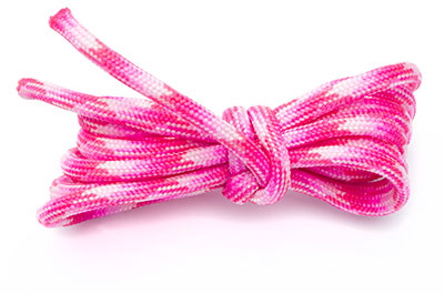 paracord 4mm multi rose x10m