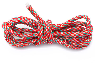 paracord 4mm multi rouge x10m