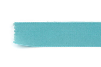 satin ribbon 6mm dark aqua x25m