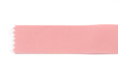 satin ribbon 6mm light rose x25m