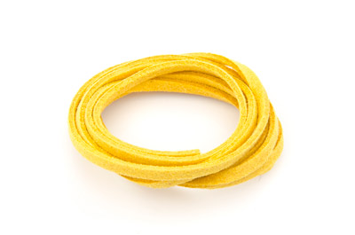 flat suede 3mm yellow x~30m