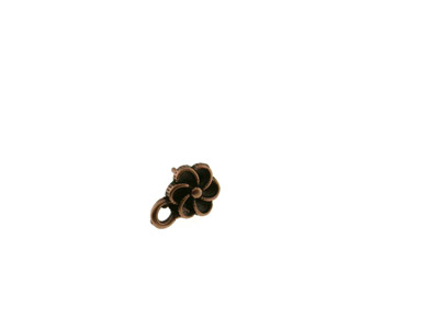 ear rings 11*9mm 20 pcs copper