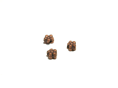 bead 5*3mm 100 pcs copper