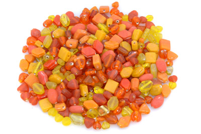 mix orange/jaune 150g