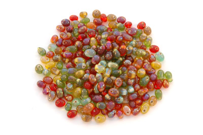 mix drop 8mm flower lustred 100g