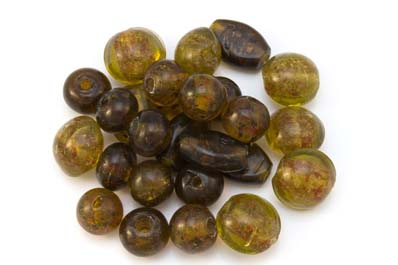 bead mix inclusion topaz 300gr
