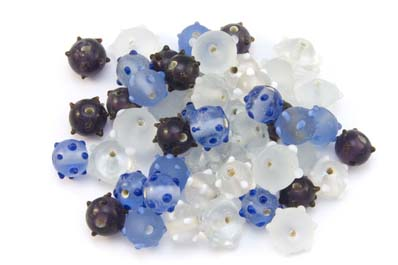 bead mix hedgehog amethyst cristal 100gr