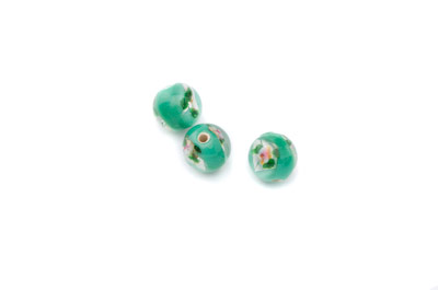 flower 8mm mint green 50 pce