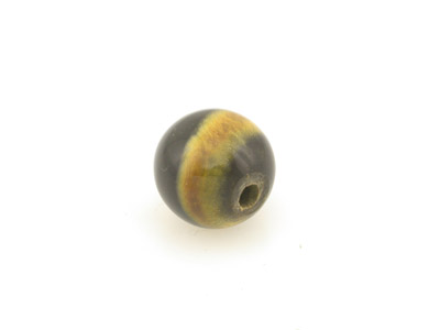 horn with black stripes 15mm round 25pce