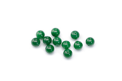 pearl mshan dark green jade tints 6mm x1fil