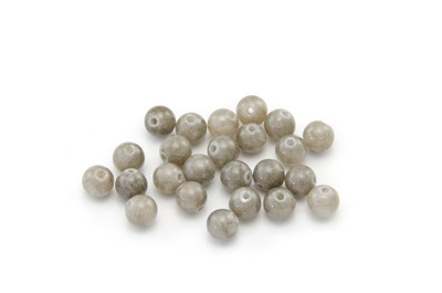 mashan jade grey round 6mm x1 std (approx 66pcs)
