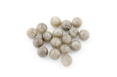 mashan jade gray round 8mm x1 std (approx 50p)