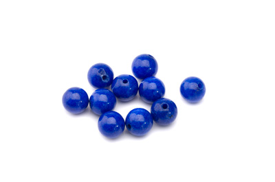 mashan jade lapis blue round 8mm x1 std (approx 50pcs)