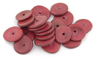 disk ~20mm pourpre 20pcs