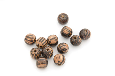 palmwood bead 8mm x 2std (about 100pcs)