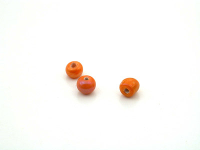 ronde 4mm orange lustré 150g