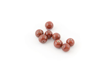 ronde 7mm marron bordeaux brillant 150g