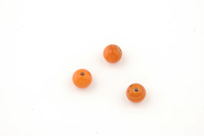 ronde 8mm orange brillant 150g