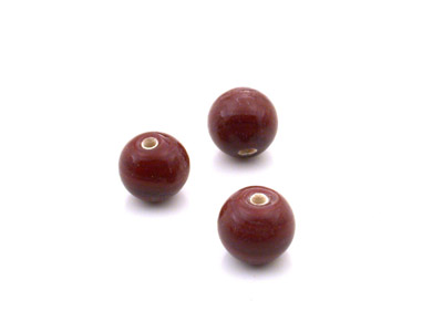 ronde 8mm marron bordeaux brillant 150g