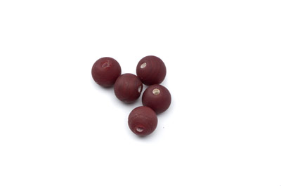 ronde 8mm marron marron bordeaux mat 150g