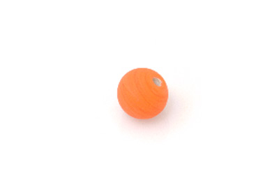 ronde 15mm orange mat 300g