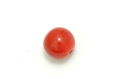 ronde 22mm corail brillant 300g