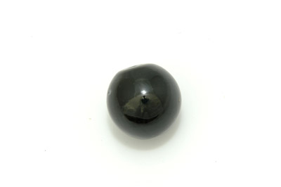 ronde 22mm noir brillant 300g