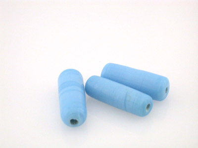 tube 20x7mm turquoise brillant 150g