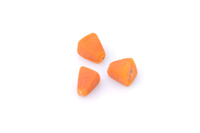 pyramide 14x10mm orange mat 150g